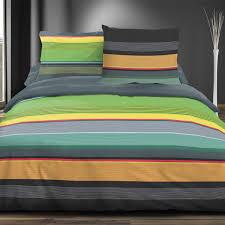 color stripes 100 cotton bed linen set duvet cover u0026 pillow