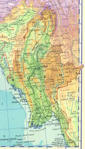 Nanking China Map by Burma Colony