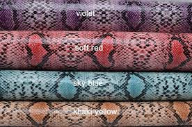 Upholstery Fabric Faux Leather Half Yard Snake Skin Faux Leather Fabric Leather Upholstery Fabric