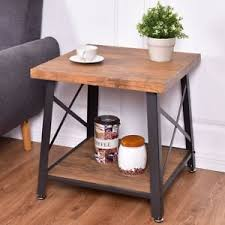 metal frame for table top square metal frame wood top coffee table w storage shelf home