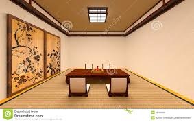 japanese style room stock illustration image 89169956