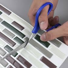 home design peel and stick subway tile backsplash fence kitchen