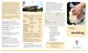 Wedding Pamphlet Template Best Of Wedding Brochure Templates Pikpaknews