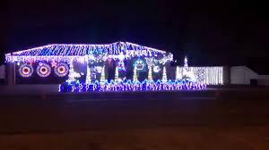 christmas light show to music australia black betty youtube