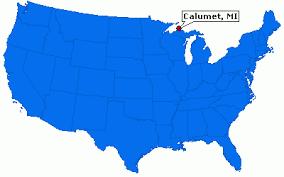 map of calumet michigan calumet michigan information epodunk