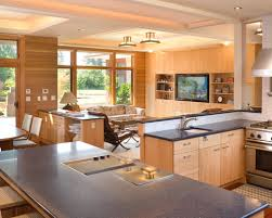 kitchen family room layout ideas attractive kitchen family room design h59 about home remodeling