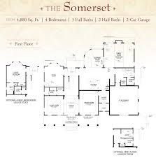 Powder Room Floor Plans by New Home Floor Plans Hillsborough Nj Home Designs Hillsborough Nj