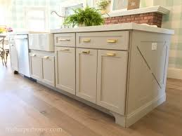 how to cut cabinets panels kitchen island trim and lights the house