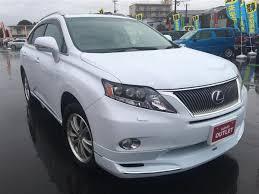 lexus rx270 japan version 2011 lexus rx 450h l version used car for sale at gulliver new