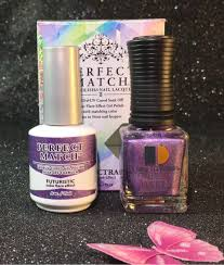 lechat futuristic spectra collection perfect match gel polish