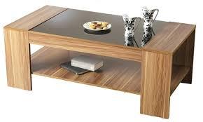 modern wood modern wood and glass coffee table artedu info