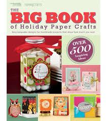 leisure arts big book holiday paper crafts holidays craft and