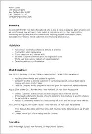 Cosmetologist Resume Example by Top 8 Hair Salon Assistant Resume Samples Cosmetologist Resume