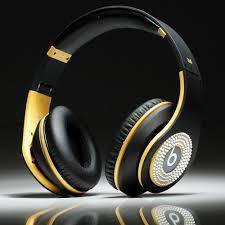 cheap beats by dre sale studio black yellow headphones