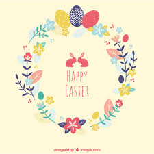 easter cards easter card vector free