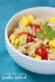 Pasta Salad Recipies by Cilantro Lime Chicken Pasta Salad I Heart Nap Time