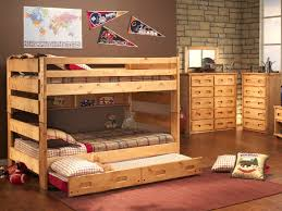 Bunk Beds With Trundle Big Sky Full Over Full Bunk Bed With Trundle Hom Furniture