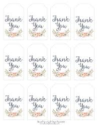 thank you tags thank you gift tags blooming homestead