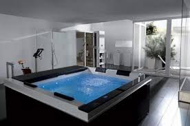 white spa bathroom ideas