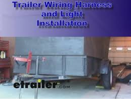 trailer wiring and light replacement demonstration video