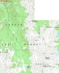 Philmont Scout Ranch Map Wheeler