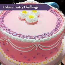 Decorating Cake Dummies Pastry Course Day Thirteen Covering Cake Piping Flowers And