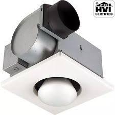 Flush Mount Bathroom Exhaust Fan by Bathroom Exhaust Fan Heater Ebay