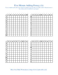 mad minute math multiplication worksheets koogra
