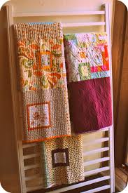 used clothing racks for sale repurpose old crib sides as a quilt rack have one in my living