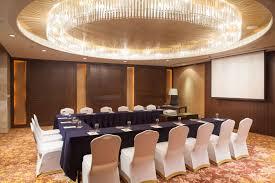Unique Interior Lighting Setting Meetings At Royal Orchid Sheraton Ballroom In Bangkok