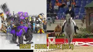 orisa u0027s dance could be based off of equine dancing youtube