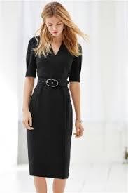 black dress uk belted tailored dress 193379 35 dresses
