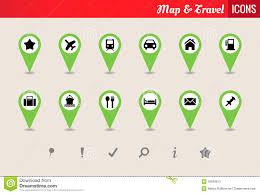 Map Icon Map U0026 Travel Vector Icon Set Stock Photo Image 28938910