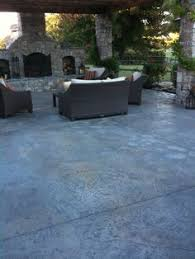 Stamped Concrete Patio Designs Pictures by Stamped Concrete With Charcoal Release Google Search Patio