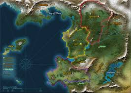 Fantasy World Map by Fantasy World Map Generator