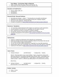 Best Business Resume Best Way To Write A Resume Sample Resume123