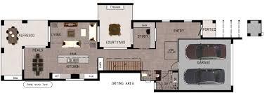 narrow house floor plans australia u2013 gurus floor