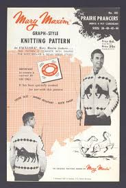 men on vintage knitting patterns flashbak