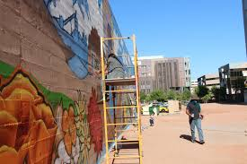 Golf Murals by Phoenix Taco The Estria Foundation Black Mesa Water Coalition