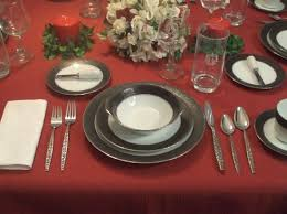 how to set a formal table how to set a formal dinner table 6 steps with pictures
