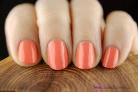 revlon parfumerie apricot nectar scented nail polish u2013 swatch and