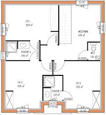 les 3 chambres plan maison etage 3 chambres