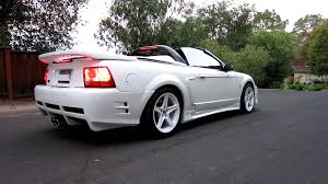 2004 white mustang convertible 99 ford mustang svt cobra convertible supercharged saleen s351
