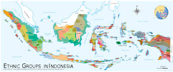 Batavia World Map by Map Of Ethnic Groups In Indonesia 2000 X 841 Mapporn