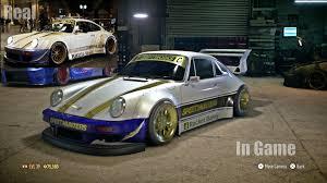 porsche blackbird need for speed 2015 porsche 911 carrera rsr best car to