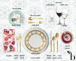 Dining Room Place Settings Setting A Formal Dining Table Indelink Com