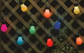 guirlande solaire multicolore festive guirlande solaire