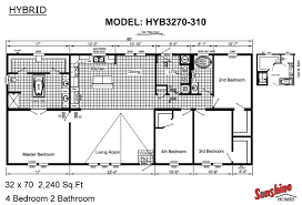 sunshine homes in red bay al manufactured home manufacturer hybrid hyb3270 310 layout