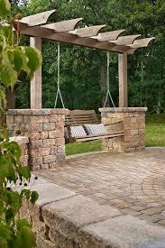 Paver Patio Design Ideas Backyard Stone Patio Designs The Best Stone Patio Ideas Stone