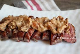 cuisiner magret de canard a la poele cooking magret de canard sauce aux girolles et foie gras